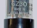Mullard GZ30 (=5Z4) White print gelijkrichtbuis (rectifier) voor Vox AC1-15 uit 1958. Made in Great Britain.
