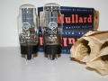 Mullard GZ32 (=5AR4) White print gelijkrichtbuis (rectifier) in originele doos. Voor AC30 Single speaker. Made in UK.