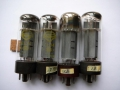 Mullard GZ34 (=5AR4) Yellow print gelijkrichtbuis (rectifier) voor Vox AC30-100 t-m ca 1969, Made in Great Britain.