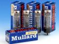 Mullard EL34 (=6CA7) eindbuizen gematched, Reissue made in Russia.