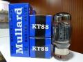 Mullard KT88 (=6550) eindbuizen, Reissue made in Russia.