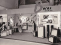 Burns stand Frankfurter Messe 1965.