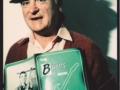 Jim Burns met het Burns book van Paul Day.