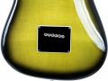 1 van de 3 Originele Burns Marvin Greenburst 1964 gitaren, serienummer 5291, afdekplaatje tremoloblok.