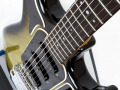 1 van de 3 Originele Burns Marvin Greenburst 1964 gitaren, serienummer 5291, bovenzicht