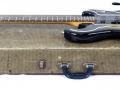 1 van de 3 Originele Burns Marvin Greenburst 1964 gitaren, serienummer 5291, op originele koffer.