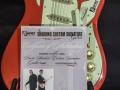 Burns London Custom Shadows Signature Guitar 2005 Certificaat Strickley limited edition 500 stuks. Gemaakt in China.