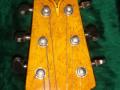 Burns London, Jet Harris Signature gitaar, headstock.