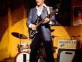 Elvis met de Burns Double Six in de MGM Film Spin Out in 1966.