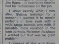 Hank Marvin's colum over de ontwikkeling van de Burns Marvin.