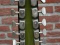 Zicht op mechanieken Baldwin 12 string. Nederlands fabrikaat van Gent machine heads / mechanieken van Gebr. van Gent te Ulft.