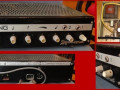 Dynacord Bass-King Black Silver buizen, model 2 1964, collage.