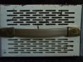 Dynacord buizen Echocord Super S62 1962, zijkant met straphandle.
