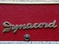 Dynacord DA16Normal 1961 rood, Dynacord logo.