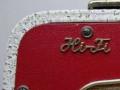 Dynacord DA16Normal 1961 rood, HIFI badge.