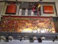 Dynacord Eminent EMT, 45 watt buizenversterker 1962-1965, opvolger van MV46, 9 buizen circuit, printplaat vanaf onder.