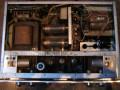 Dynacord Eminent I buizenversterker 45 watt 1966-1967, chassis met 10 buizen (ECC81, 2xECC83, 5x ECC808, 2x EL34 0, van boven.