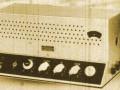 Dynaphon UMV30 1955 30 watt met ingebouwde radio, 11 buizen, front.