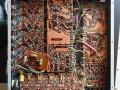 Dynacord Echocord Studio Disc Echo 1966-1968, 33 transistors solid state printplaten.