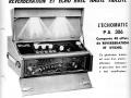 Meazzi Buizen Echomatic PA306   Licence SEP ca. 1963, advertentie Franse importeur Fratelli Crosio.