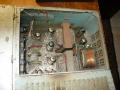 Meazzi Echomatic Factotum Special buizen SEP, techniek poweramp, achterste trafo vervangen.