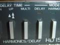 Ibanez HD1500 Harmonics delay, links van midden.