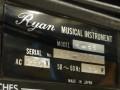Ryan Echo Chamber Rec 66, typeplaatje met serienummer.