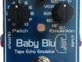 Baby Blue Stompbox met eTap techniek handgebouwd in UK door Stanley-FX.