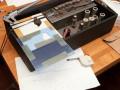 Voorbereidingen voor modificatie naar lange bandloop als Roland RE modellen.