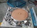REVERB-MATIC Disc Echo, een home made Meazzi-Binson samenstelling door Pavel Petrus uit Innsbruck Oostenrijk, transistor drum met koppen.