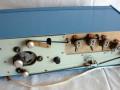 Gong RM-1 buizen bandecho, back met tapeloop met boven opnamekop, 3 weergavekoppen, wiskop onder.