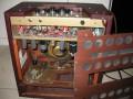 Echosonic amp met ingebouwde echo gebouwd door Ray Butts Cairo Illinois USA 1953, open back.
