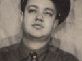 Jonge Ray Butts 1919-2003, ontwerper en bouwer van de Echosonic amp, hier 20-jaar.