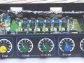 Atlantis 1 Tube loaded uitvoering met links voor de EF86 buis in de voorversterker, open top front.