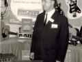 Helmut Schaller op de beurs.