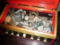 Schaller Echo-Sound 1963-1965, verbouwd naar tape echo door Peter Hoffmann, tapeloop.