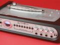 Echoverb met 6 weergavekoppen van Unity Audio Ltd UK. Geproduceerd door Blue Coconut Ltd ontwerper voormalig WEM engineer Terry MacDonald, front zonder cover.