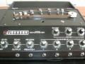 Johnson Autogain Echomaster solid-state tape echo 1970 UK, schuine display,  Pink Spot tapeloop opnamekop, wiskop en 3 weergavekoppen.
