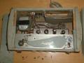 Supersound Echo Voice tapeloopecho UK, vroeg buizen toestel uit de pre Burns periode, deksels afgenomen.