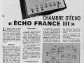 Magnetic France bandecho Echo France III. Met 3 inputs en verplaatsbare weergavekop.