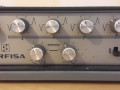 Farfisa preamp GS 42 R met tremolo en Spring reverb, display links.