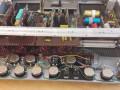 Farfisa preamp GS 42 R met tremolo en Spring reverb, open front panel.