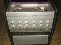 FBT 4 kanaals Echo PA System Personal 604 buizen, front met poweramp onderin.