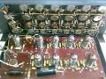 FBT 6 kanaals Echo PA System Personal  2002 buizen, de buizen voor preamp en echo 2x ECC82 en 8x ECC83.