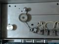 Semprini echo solid state model ETR 600, cassette  bandloop met  vanaf links wiskop, kleine opnamekop en wiskoppen.