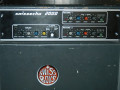 Swiss Echo 2000 Delay en Spring Reverb, front met Delay en Reverb Sections.