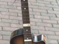 Egmond 101-5 CA Sunburst 1961, front met blockinlays.
