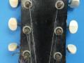 Vroege Egmond  akoestische Jazz gitaar, headstock front.