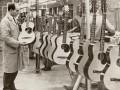 Visuele inspectie acoustische gitaren.