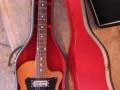 Rambler 2ES1, 2 pickups en tremolo, met Fender kop, in originele koffer.